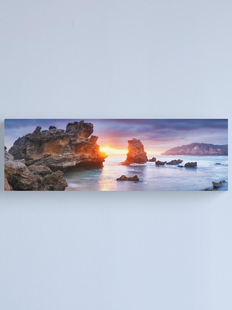 Alternate view of Bridgewater Bay, Mornington Peninsula, Victoria, Australia Canvas Print