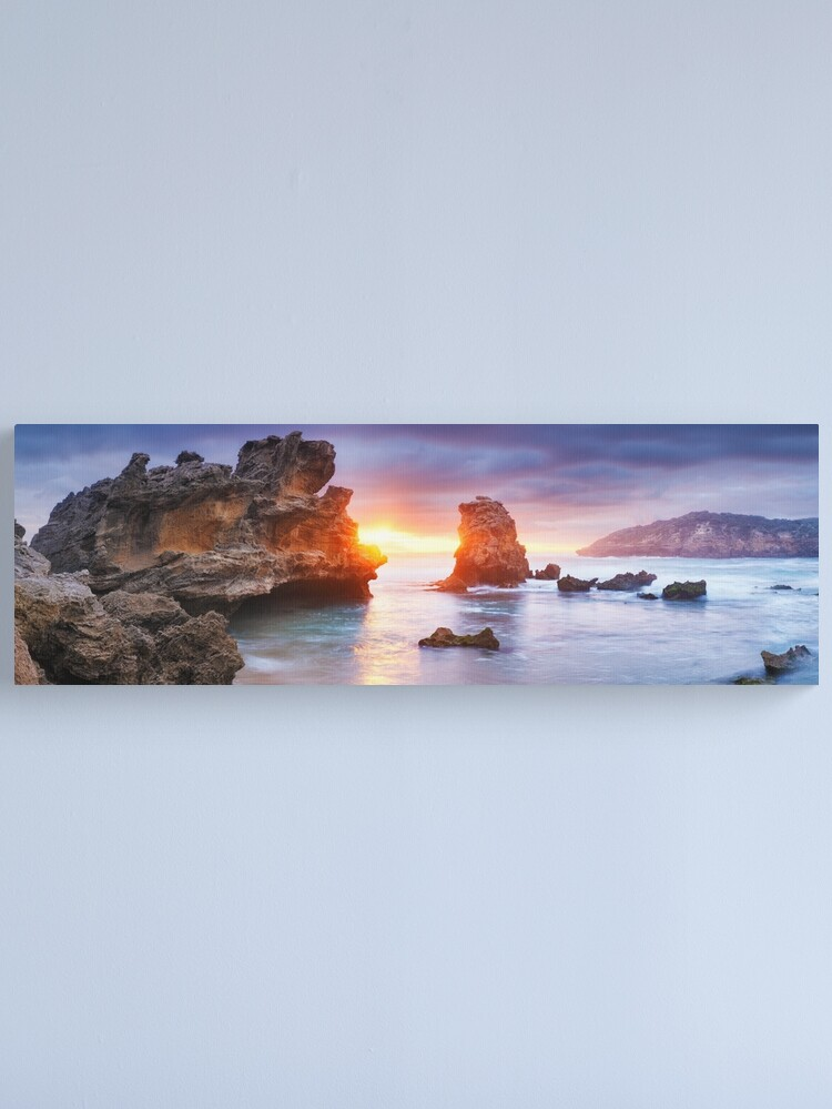 Alternate view of Bridgewater Bay, Mornington Peninsula, Victoria, Australia Canvas Print