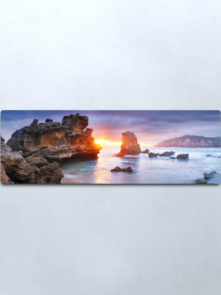 Alternate view of Bridgewater Bay, Mornington Peninsula, Victoria, Australia Metal Print