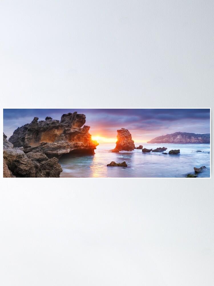 Alternate view of Bridgewater Bay, Mornington Peninsula, Victoria, Australia Poster