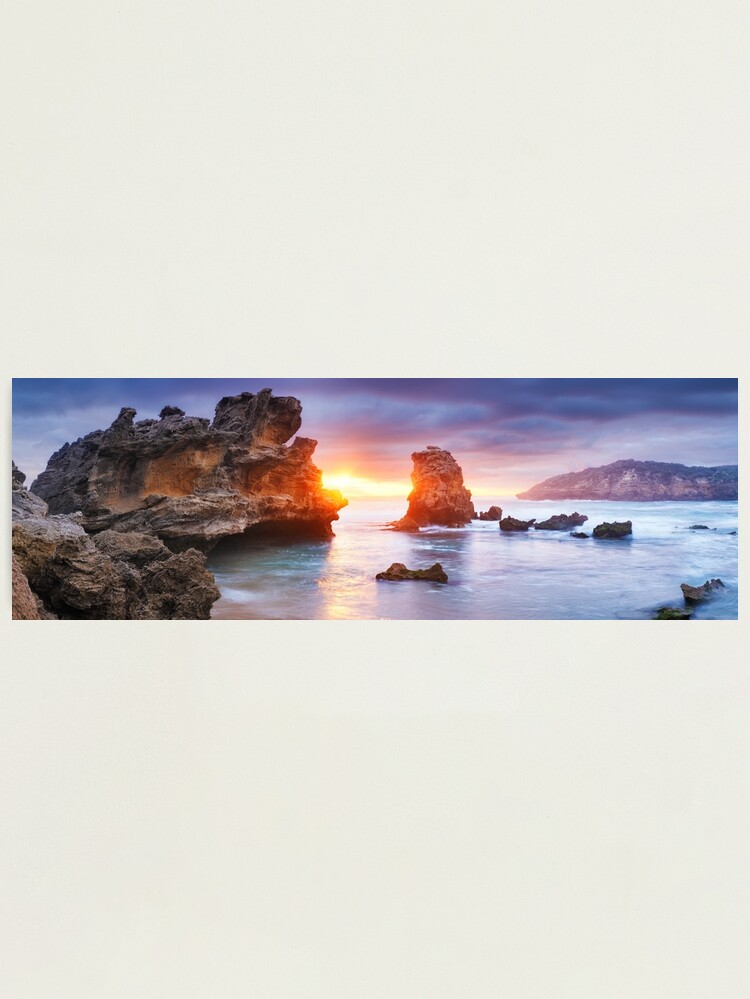 Alternate view of Bridgewater Bay, Mornington Peninsula, Victoria, Australia Photographic Print