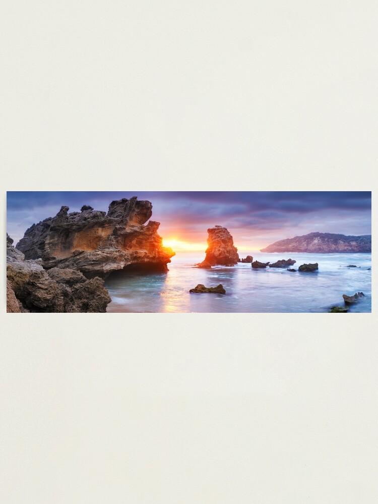 Alternate view of Bridgewater Bay, Mornington Peninsula, Victoria, Australia Photographic Print