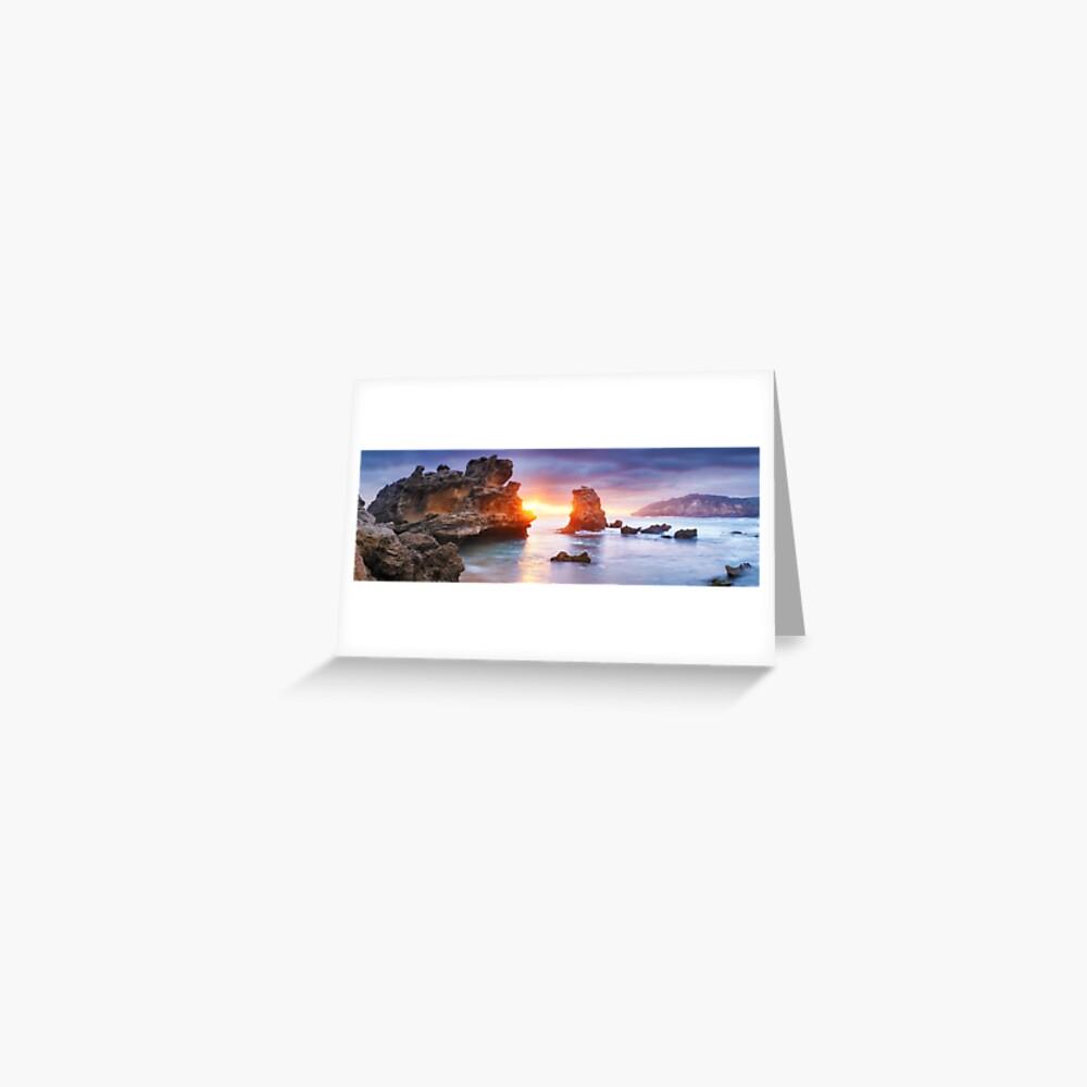 Bridgewater Bay, Mornington Peninsula, Victoria, Australia Greeting Card