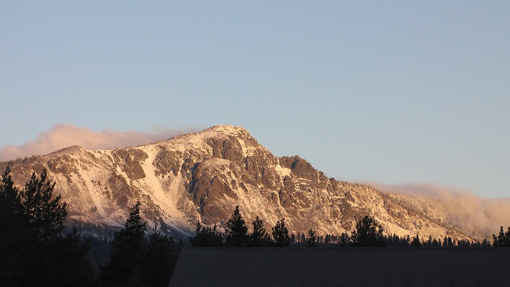 Mt. Tallac zoom by James Tase