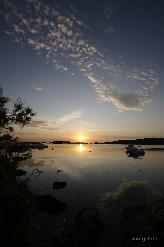 Menorca Sunrise by auntystatic