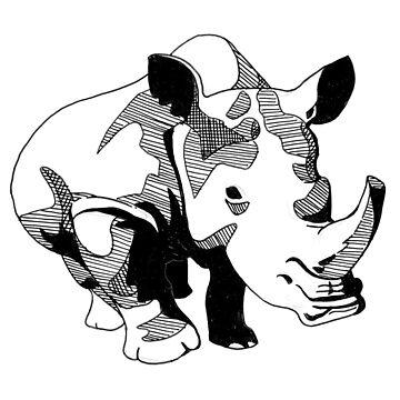 A Rhinoceros by srw110