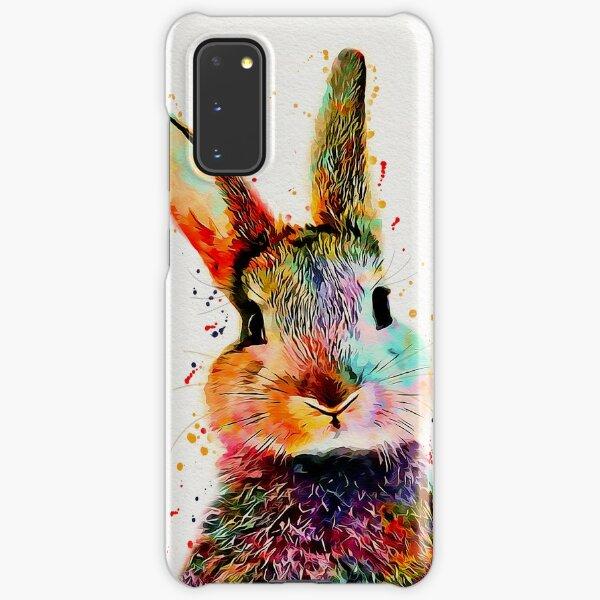 Rabbit Watercolor Art Work  Samsung Galaxy Snap Case