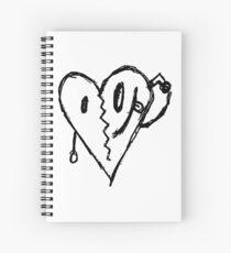 XXXtentacion Bad Vibes Forever Spiral Notebook