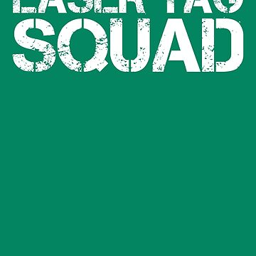 LASER TAG SQUAD Art Funny Birthday Party Game Gift Idea by NBRetail
