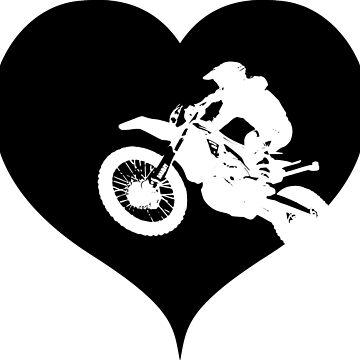 Motocross with love by RetroFuchs