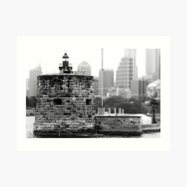 Fort Denison - Sydney, NSW, Australia Art Print