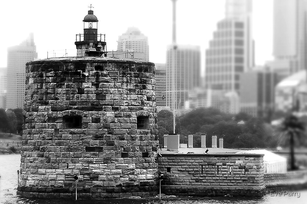 Fort Denison - Sydney, NSW, Australia by Eve Parry