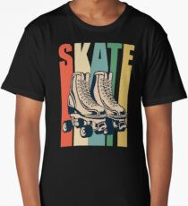 Roller Derby Retro Design - Skate Long T-Shirt