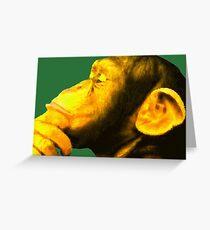 Homo sapiens Greeting Card