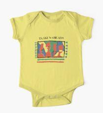 Talking Heads Grafikdesign ArtWork Yellow Tee T-Shirt Baby Body Kurzarm
