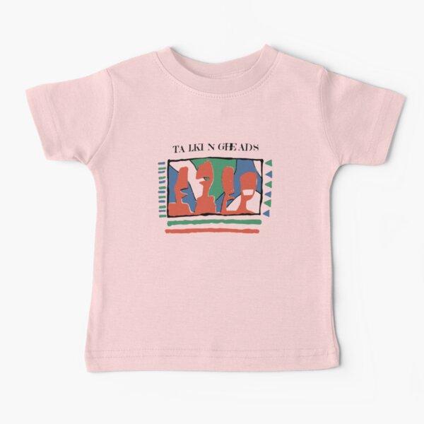 Talking Heads Graphic Design ArtWork Yellow Tee T-Shirt Baby T-Shirt