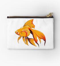 Goldfish animal fish pet vet office Studio Pouch