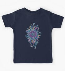 Deep Summer - Watercolor Floral Medallion Kids Clothes