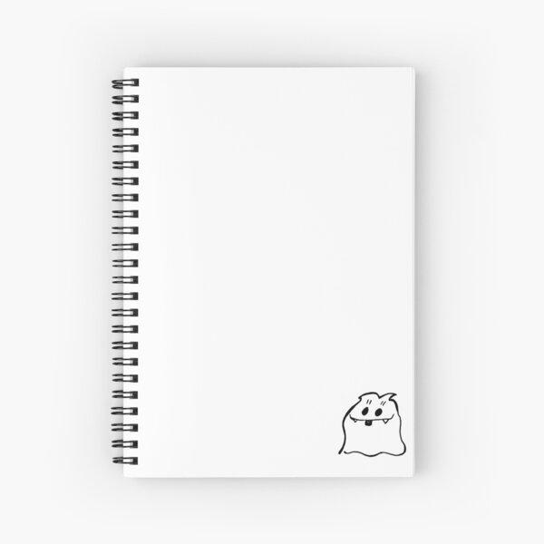dfekt spiral notebook white  Spiral Notebook