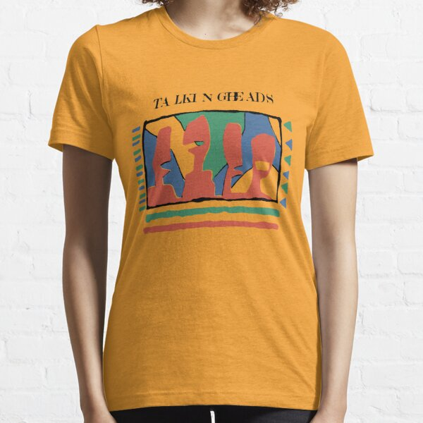 Talking Heads Funny Art Work Graphic Design Yellow Tshirt Essential T-Shirt