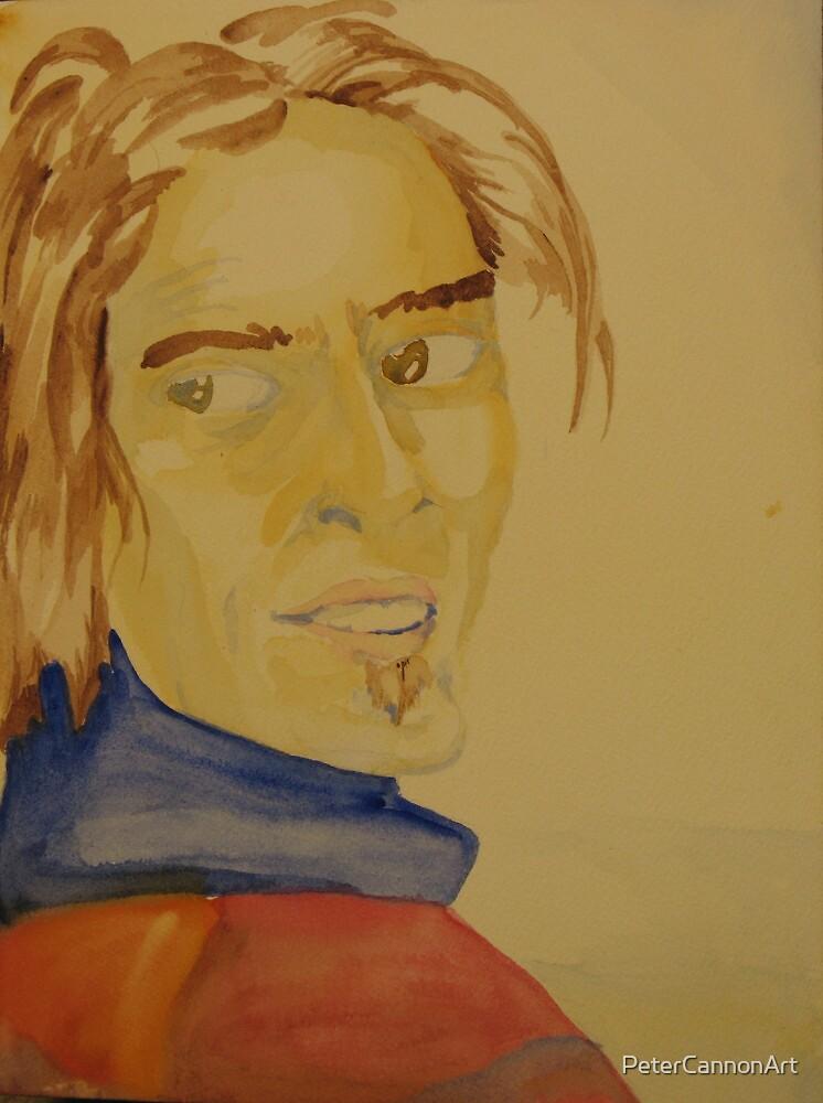 self portrait by PeterCannonArt