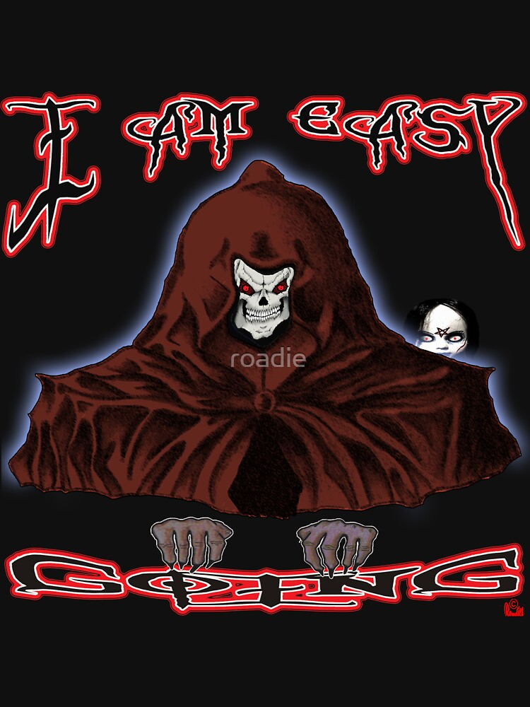 GRIM REAPER AND SIDE KICK/ I AM EASY GOING by roadie