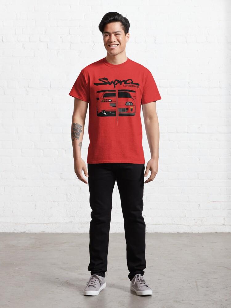 Alternate view of Toyota Supra MK IV - CarCorner Classic T-Shirt