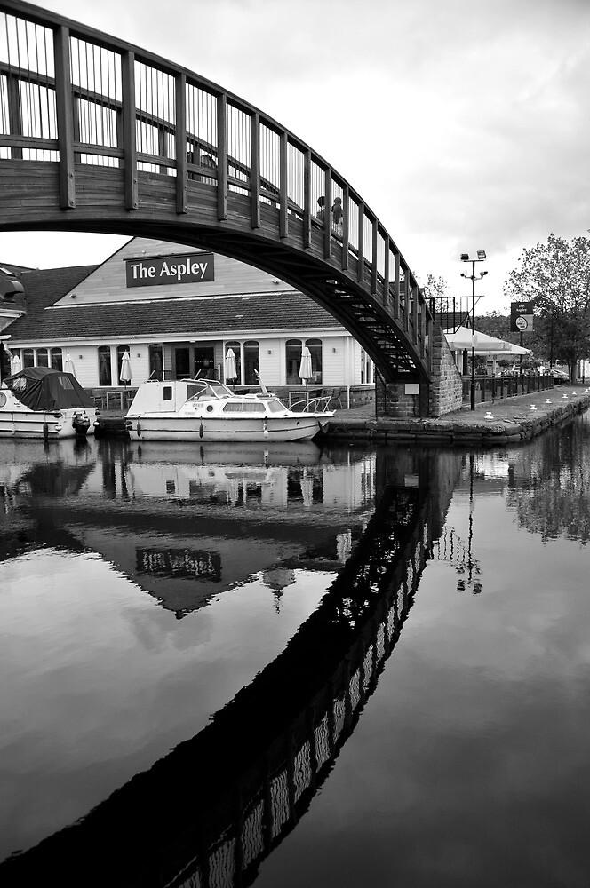 Monochrome Bridge by laurencrainer