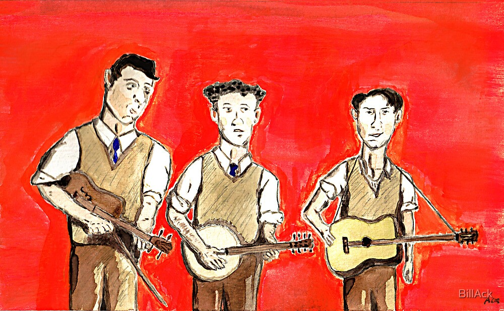 Three-Man String Band by BillAck