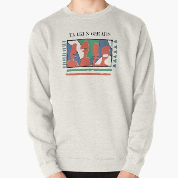 Funny Graphic Design Art Work - Talking Heards Pullover Sweatshirt