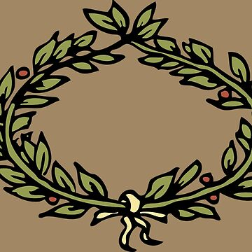 Olive Branch Wreath (PEACE) by bebebelle