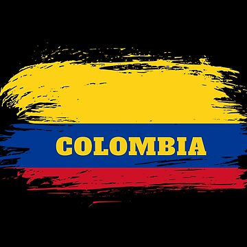 Colombia Flag / Gift Colombia South America by Rocky2018