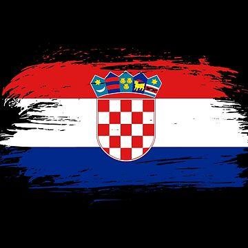 Croatia Flag / Gift Croatia Zagreb Balkan by Rocky2018