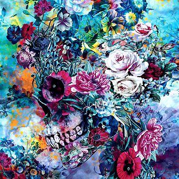 Surreal Skull by rizapeker
