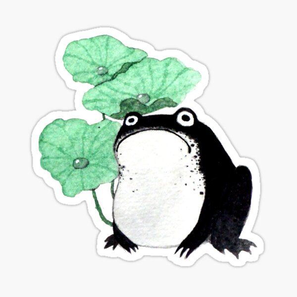 Chubby Toad Sticker