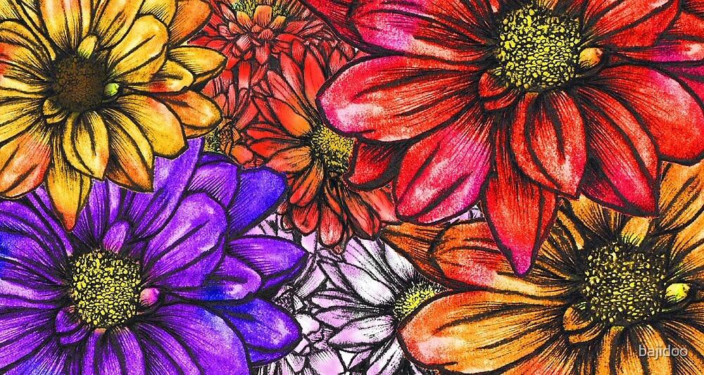 Sketch Garden by bajidoo