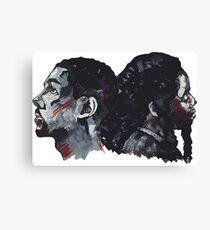 Double Bak Canvas Print