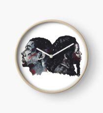 Double Bak Clock