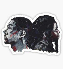 Double Bak Sticker