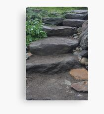 Stone Steps Canvas Print
