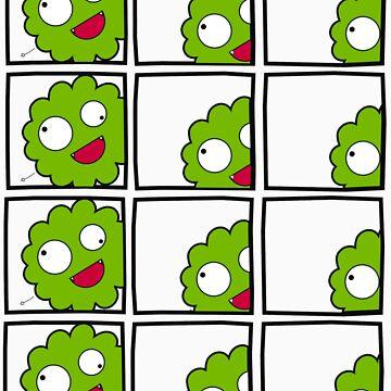 Stupid Me in Green by hellomaruko