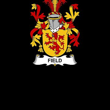 Field Coat of Arms - Family Crest Shirt by FamilyCrest
