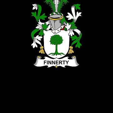 Finnerty Coat of Arms - Family Crest Shirt by FamilyCrest
