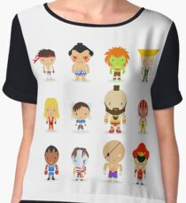 Street fighter - the world warrior Chiffon Top