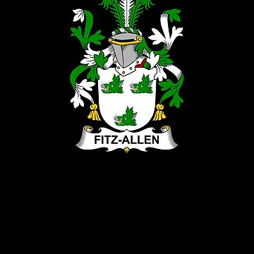 Fitz-Allen Coat of Arms - Family Crest Shirt by FamilyCrest
