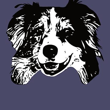 Australian Shepherd Dog - Aussie Christmas Gifts by DoggyStyles