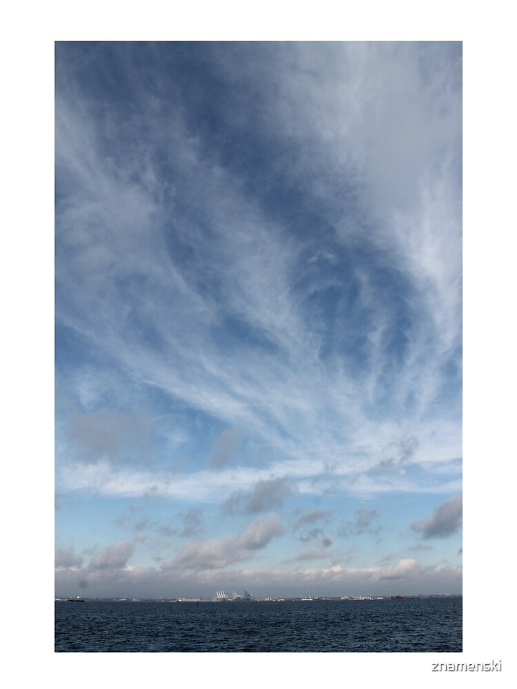 #sky #landscape #nature #outdoors #weather #storm #water #sea #rain #sunset #summer #horizontal #blue #colorimage #wide #nopeople #day #lightnaturalphenomenon #scenicsnature #sun #cloudsky #coastline by znamenski