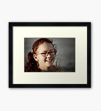 Gotta love that smile Framed Print