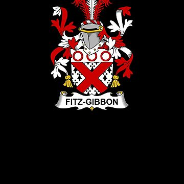 Fitz-Gibbon Coat of Arms - Family Crest Shirt by FamilyCrest