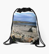 From the Island Drawstring Bag